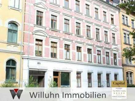 Licht, Platz und Komfort in toll geschnittener 2-Raum-Wohnung im angesagten Viertel Schlosschemnitz