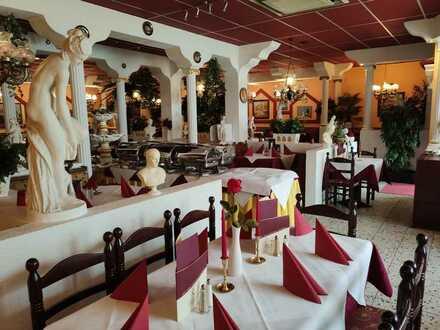 Gewerbeobjekt über 2 Etagen mit gut laufendem griechischem Restaurant