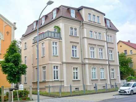 Moderne 4-Raum-Wohnung mit Loggia u. Stellplatz in Bautzen