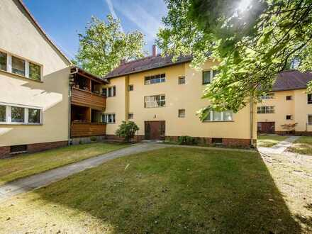 Vermietete 2-Zimmer-Wohnung mit sonnigem Süd-Balkon