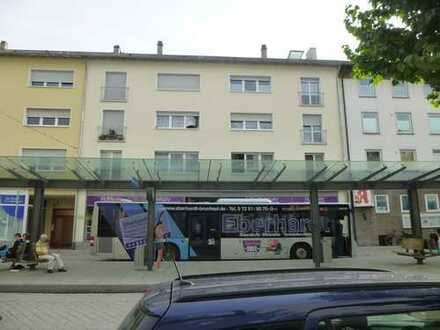 Single-Dachgeschosswohnung in Bruchsal, Bahnhofsnähe