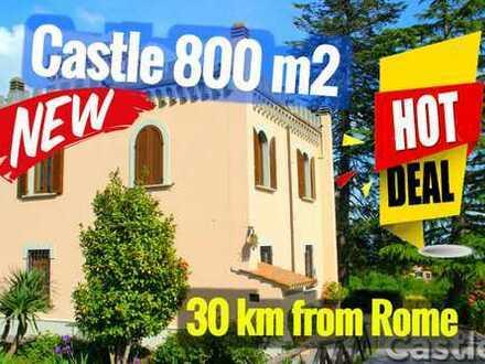 Ronciglione Castle 35 Minuten von Rom