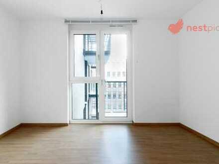 Helles Zimmer mit Balkon für Studenten und Azubis