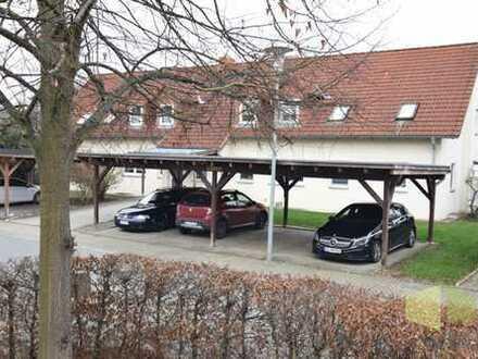 Vermietete 3,5-Zi-ETW mit Terrasse, Carport, als Kapitalanlage