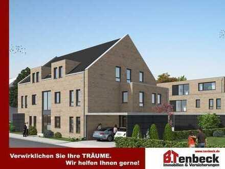 +++Haus 1! Moderne Eigentumswohnung (4) im 1. Obergeschoss mit Balkon u. Stellplatz in Borken-Burlo!