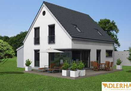 Seltenheit, Einfamilienhaus mit großem Garten und sehr guter Verkehrsanbindung Projektiert
