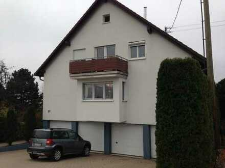 Gepflegte 2-Zimmer-Wohnung mit Terrasse und Einbauküche, Keller, Stellpl. in Bad Herrenalb Neusatz