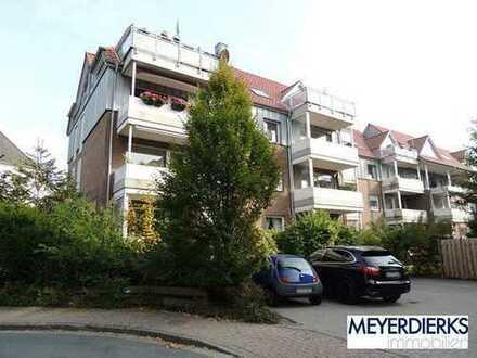 Bürgerfelde - Widukindstraße: 2-Zimmer-Wohnung mit Balkon in innenstadtnaher Lage