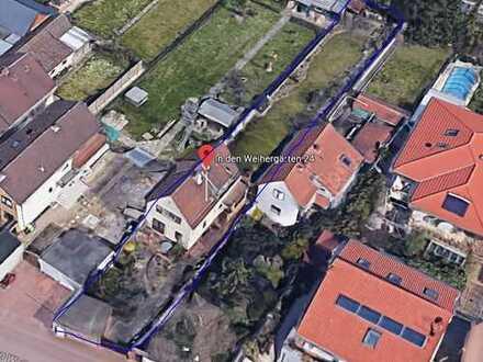 Einfamilienhaus mit riesigem Garten in ruhiger Spielstrasse in Lu Oggersheim
