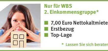 Ruhig gelegene 2-Zimmer-Wohnung  Nur mit WBS 2. Einkommensgruppe - Lassen Sie sich beraten!