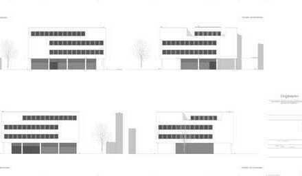 Vorabankündigung für einen Neubau eines Büro bzw. Ärztehaus in Freising