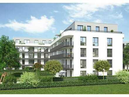 Barrierefrei! Durchdachte 3-Zimmer-Wohnung mit schönem West-Balkon im Grünen!