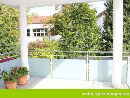 3-Zimmerwohnung mit Küche und großem Südbalkon in Hepberg
