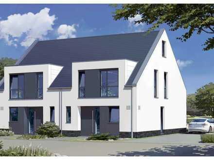 Moderne Doppelhaushälfte mit bis zu ca. 154 m² Wohnfläche mitten in Aumund