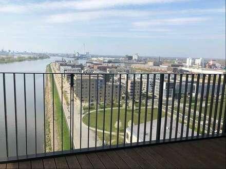 Helle 3-Zimmer Wohnung mit traumhafter Aussicht über die Weser und Überseestadt