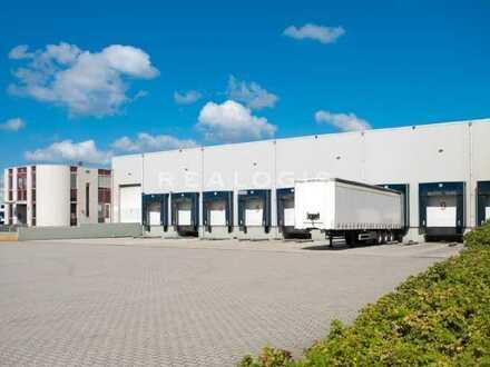 Lager-/ Logistikfläche mit Bürotrakt zu vermieten!