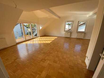 große, lichtdurchflutete 1-Zimmer-Wohnung am Rande der Gartenstadt mit neuer Einbauküche und Balkon