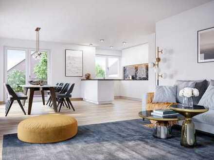 Perfekt geschnittene 2-Zimmer-Gartenwohnung mit Hobbyraum