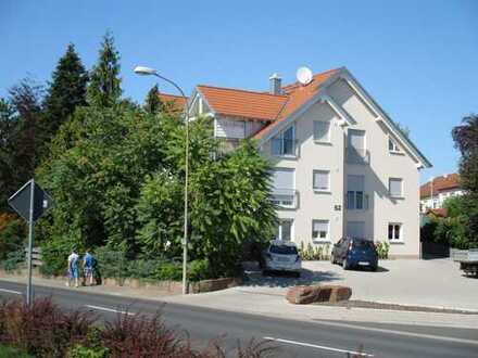 2 Zimmer-Erdgeschosswohnung mit Terrasse und Gartenanteil