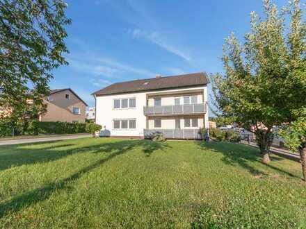 Wohnung für Familie mit großem Garten und Balkon