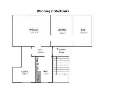 Günstige, gepflegte 3-Zimmer-Wohnung zur Miete in Oelsnitz