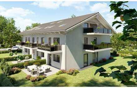 Neubau Maisonette-Gartenwohnung mit Süd-West Terrasse