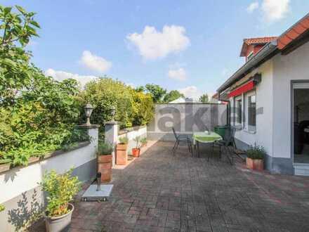 Naturnah bei Homburg: Reihenmittelhaus mit Sonnenterrasse u. Kaminofen in Käshofen