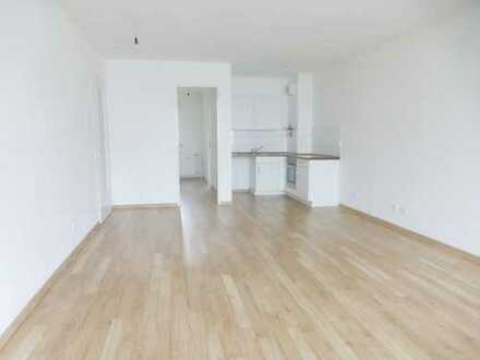 **WBS** Helle 2-Zimmerwohnung mit EBK, Balkon UND Garten