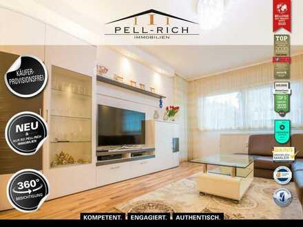 INNERE WERTE - Moderne und helle 3-Zimmer Wohnung mit Balkon KÄUFERPROVISIONSFREI