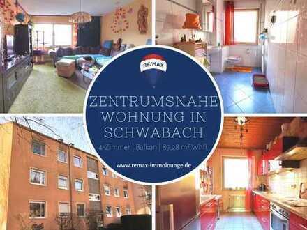 JETZT VIRTUELL BESICHTIGEN: 4-Zimmerwohnung mit Balkon und Einbauküche in zentrumsnaher Lage von Sch