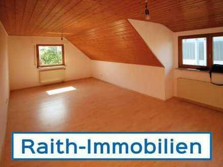 Großzügige 3 Zi. DG-Wohnung in Merching