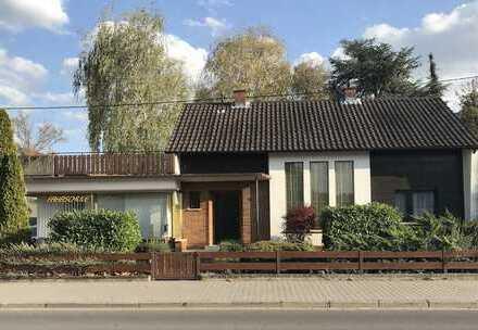 sonniges Architektenhaus in grüner Idylle