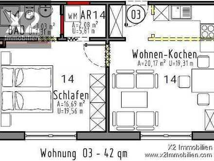 Erstbezug! 2 Zimmer Wohnung steht in Klüsserath zu Vermietung frei
