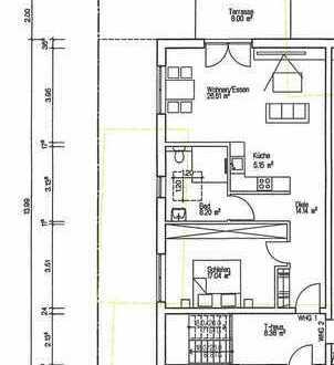 Nr 1. Neubau ! Sonnige 2-Zimmer-Erdgeschoßwohnung in einem 6 Familienhaus