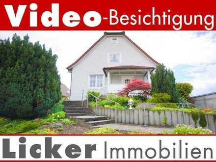 * Freistehendes Einfamilienhaus in Ortsrandnähe.