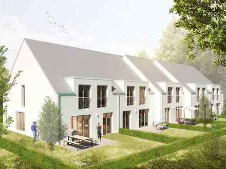 Baugrundstück mit Baugenehmigung für fünf Reihenhäuser