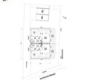 Doppelhaushälfte Nr. 1 in sehr ruhiger Lage in Augsburg-Inningen