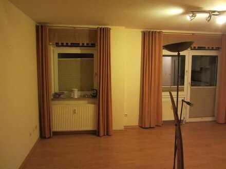 Attraktive 1,5-Zimmer-Erdgeschosswohnung mit Balkon und Einbauküche in Quakenbrück