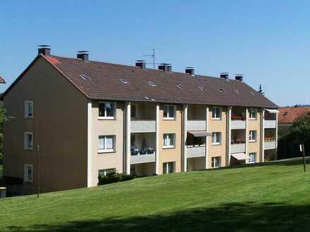 3-Zimmerwohnung mit Balkon ins Grüne!