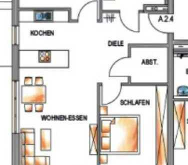 3-Zimmer-Wohnung mit Balkon und EBK in Mietingen