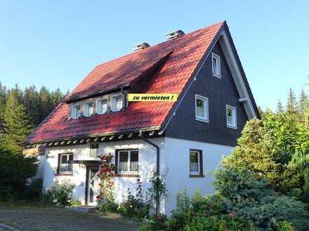 HINTERZARTEN: sanierte 2-Zimmer-Wohnung mit Balkon und Garage in Zweifamilienhaus am Waldrand