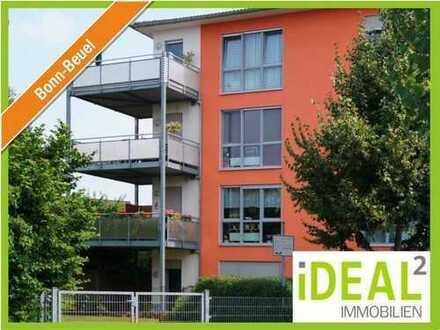 Ruhige 3 Zimmer Wohnung mit Balkon in kleiner Wohneinheit