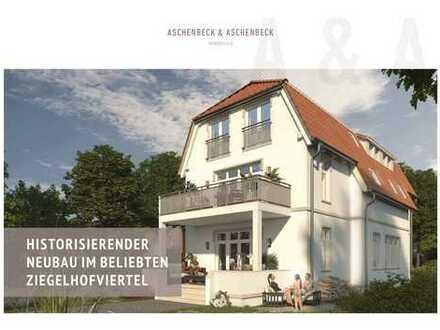 VERKAUFT-Historisierender Neubau über zwei Etagen im beliebten Ziegelhofviertel!