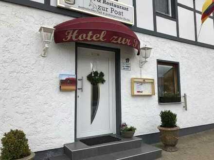 Rentables und vollständig ausgestattetes Hotel mit Restaurant