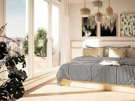 Feel good! Stilvolle 3-Zimmer-Wohnung mit 2 Balkonen in sympathischer Umgebung