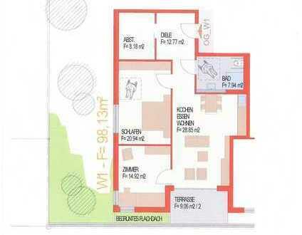 3,5 Zi. Wohnung mit Aufzug in Mosbach