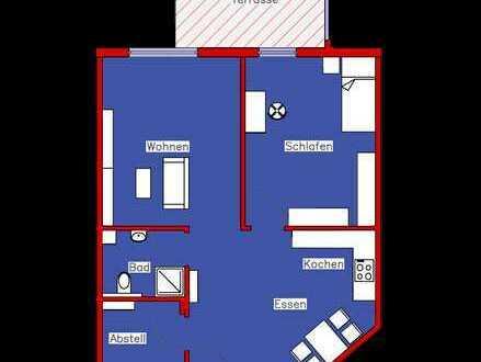 Erstbezug: Schönes Appartement mit Parkett, Einbauküche und Terrasse (R4)
