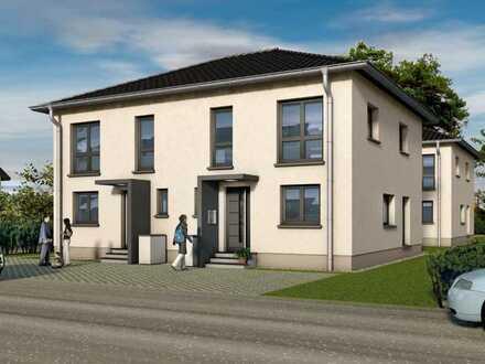zu vermieten Doppelhaus hälften Neubau