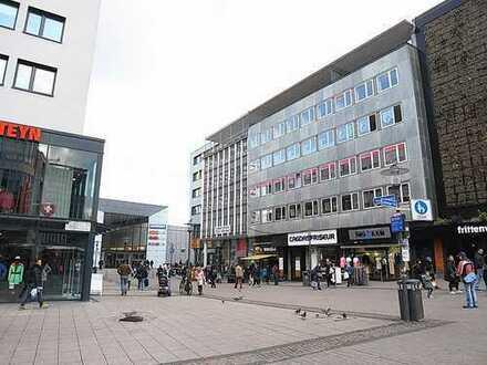 Top-gelegene Ladeneinheit in hochfrequentierter Lage in der Fußgängerzone