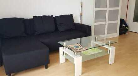 Dörnigheim-Maintal: Möblierte 1-Zimmer-Wohnung mit EBK, Balkon, keller und Parkplatz